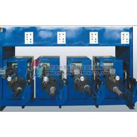 Bristle monofilament spinning drawing crimping winding plant