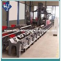 steel pipe shot blasting machine of high quality