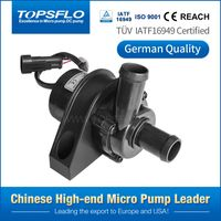micro electrical parking heater dc brushless water pump