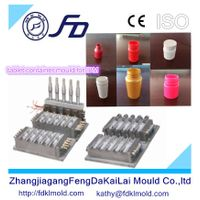 FD brand new products tablet container bottle injection blow mould for IBM