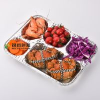 Eco-Friendly Aluminum foil food tray thumbnail image