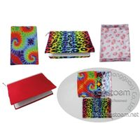 Heat Sublimation Lycra Spandex Notebook Covers book covers sleeves various Designs
