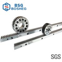 Gringding CNC Steel Gear Rack Pinion for Automatic Machine (BHGS1.5-10) thumbnail image