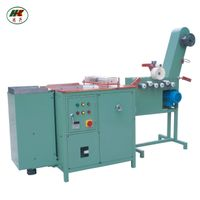 elastic narrow fabric festooning machine