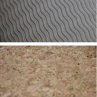 Portable lightweight natural cork nonslip yoga mats tpe base yoga mat, eco-friendly and biodegrable thumbnail image