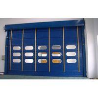 Automatic Electric Motorized Industrial Overhead Sectional Garage Door/ Roller shutter door thumbnail image