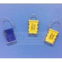 Model no. TSS-PL02, Padlock type Plastic Numbered Electricity Meter Seal Plastic Padlock Seal