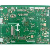 Finished 1oz 4 L Multilayer TV Board with OSP