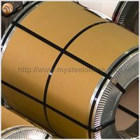 Brown Beige PPGI Galvanized Steel Coil