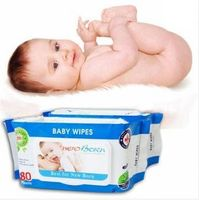 100 sheets NEW BORN wet wipes