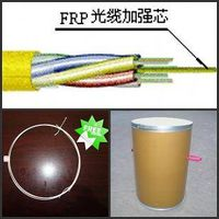 FRP central member for optic cable