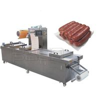 Sausage Automatic Vacuum Thermofoming Packaging Machinery