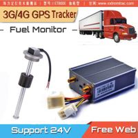 Truck Lorry Van GPS Vehicle Tracker Fuel Meter Monitor Oil Level Tracking