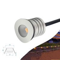 Exterior1W LED Handrail Stair Railing Lights IP67 Waterproof Interior LED Spot Light