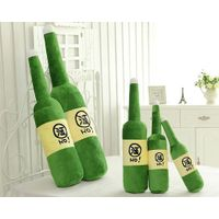 Plush Beer Bottle Hold Pillow, OEM Orders Are Welcome