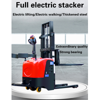 New Design Portable Self Loading Stacker Pallet With Folding Pedal thumbnail image