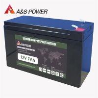 12V 7Ah Auto Battery Stater BatteryLithium Ion Rechargeable Battery Lifepo4 Ebike Battery thumbnail image