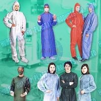 Disposable Non-Woven Type5 Type6 Coveralls
