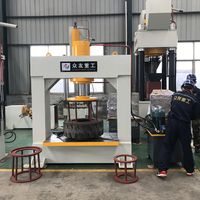 Forklift Solid Tire Tyre Hydraulic Press Machine 200 ton thumbnail image