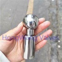 Stainless Steel Sanitary Food Grade Thread Rotary Cleaning Ball Spray Ball