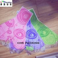 purple color Y shape order online flower sleeve for Valentine/romantic flower wrapping sleeves