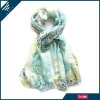 Wild style leopard twil animal print scarf - HEFT fashion scarves and shawls