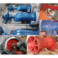 Tubular hydro turbine