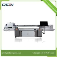 digital glass printer with anti-static system certified by CE