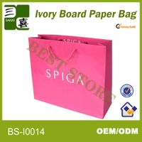 eco friendly paper bags storage with 3d effective paper bag