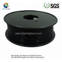 Caron Fibre 3d filament black color 1.75mm factory price