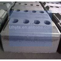 Carbon anode blocks/Pre-Baked anode blocks/Anode blocks for Al plants