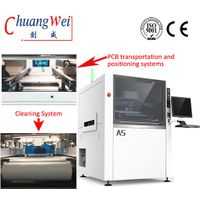 Full Automatic Solder Paste Printing Machine,CW-A5