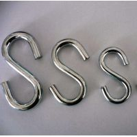 Stainless steel s hook metal S shape hanging hook