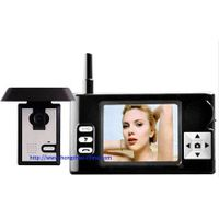 2.4g 3.5 inch wireless video intercom door viewer