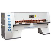 Veneer cutting machine