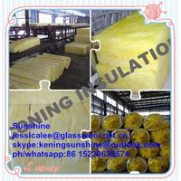 Fireproof fiber glass wool insulation batts for wall and ceiling insulation batts thumbnail image