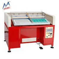 Semi automatic Rhinestone brushing machine Crystal sheet making machine