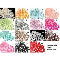 Flat back ABS Imitation pearls 1.5mm,2mm,3mm,4mm,5mm, etc