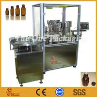 Alcohol Filling Stoppering Capping Monoblock Machine