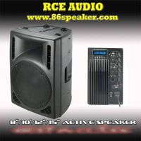 Plastic Molded PA Speaker System PS-0115AME with USB EQ Remote thumbnail image