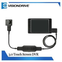 VD8000II+501HD 3.0 Inch Touch Screen DVR Support 64GB SD Card Body Camera