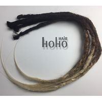 hair closure pre braided synthetic hair with crochet process