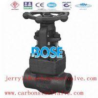 ANSI SW gate valve forged steel f11