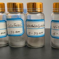 CoCrFeNiAl Powder High-entropy Refractory And Deformable Alloy Powder