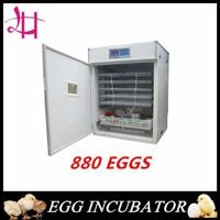 880 eggs chicken incubator lh-7 automatic incubator