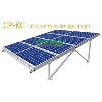 CP-KC all aluminum solar ground mount system