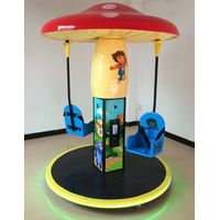 Jungle Mushroom-2P Flying Chair Kiddy ride