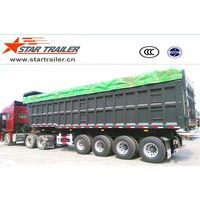 4 Axles Dumping Semi-trailer