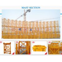 Qtz160 (TC6516) Max. Load Capacity: 10t/Tip Load: 1.6t Tower Crane with Ce Approved
