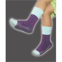 TPR kids shoe terry socks